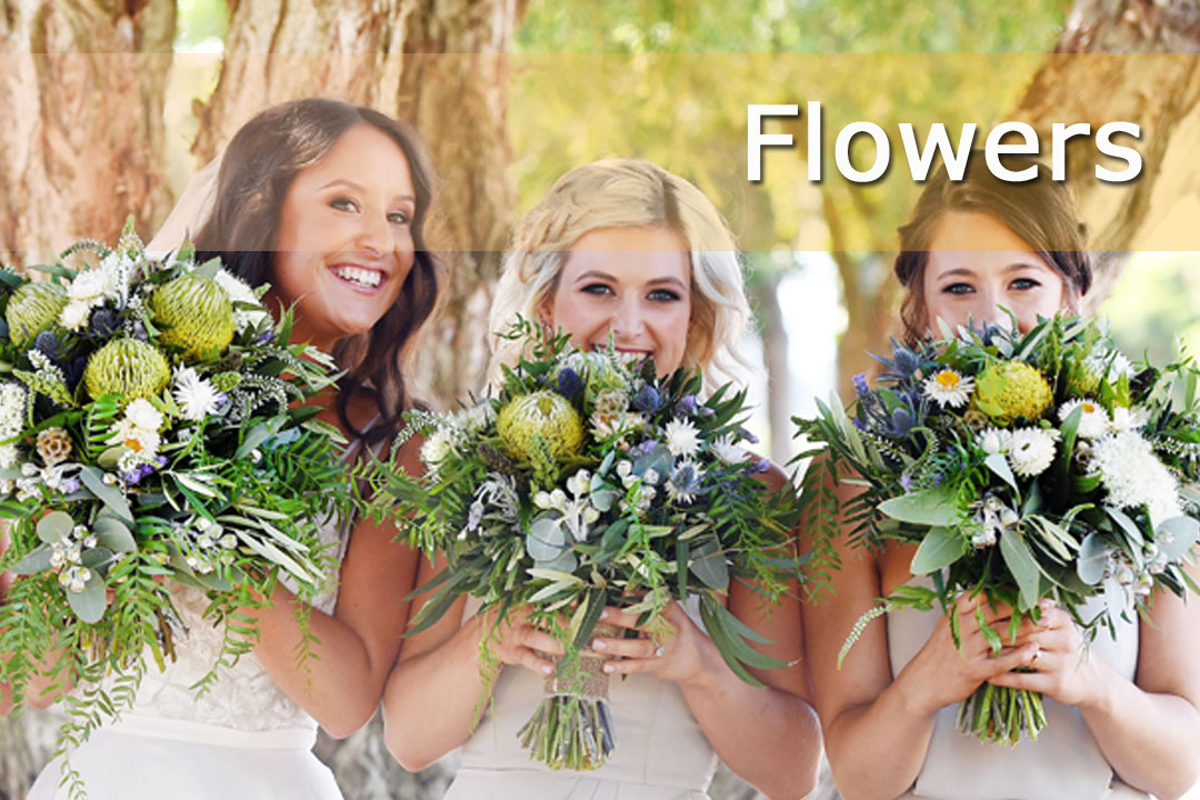 Queensland Wedding & Bride - Flowers