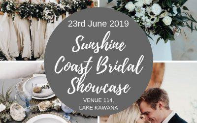 Sunshine Coast Bridal Showcase – June, 2019