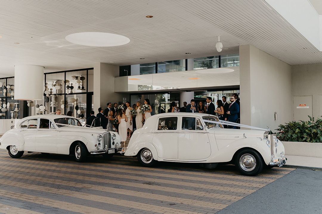Our wedding cars / Tic Tac tours